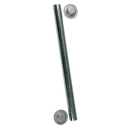 "C.E. Smith Package Roller Shaft 1/2"" x 12-3/4"" w/Cap Nuts - Zinc 1"