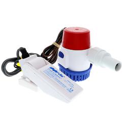 Rule 500 GPH Standard Bilge Pump Kit w/Float Switch - 12V 1