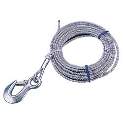 """Sea-Dog Galvanized Winch Cable - 3/16"""" x 20&#39 1"""