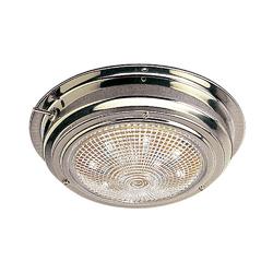"Sea-Dog Stainless Steel LED Dome Light - 5"" Lens 1"