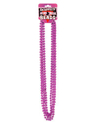 Bachelorette Outta Control Beads - Metallic Pink Pack of 6 1