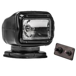Golight Radioray GT Series Permanent Mount - Black Halogen - Hard Wired Dash Mount Remote 1