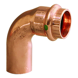 "Viega ProPress 1"" - 90&deg Copper Elbow - Street/Press Connection - Smart Connect Technology 1"
