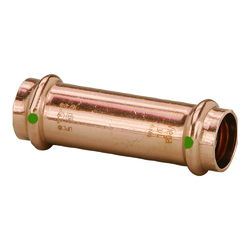 """Viega ProPress 1-1/4"""" Extended Coupling w/o Stop - Double Press Connection - Smart Connect Technology 1"""