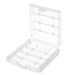 CR123A AA AAA Battery Case Holder Box Storage White 1