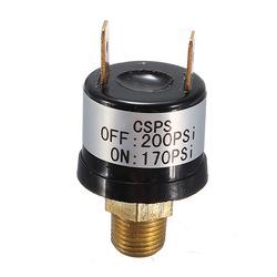 Trumpet Train Horn Compressor Air Pressure Switch 170-200 PSI 12V 1
