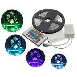 5M 3528 SMD RGB Non-Waterproof 300 LED Strip Light 12V DC 1