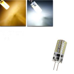 G4 3W White/Warm White 48 SMD 3014 12V LED Corn Light Bulb 1
