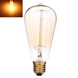 E27 40W Incandescent Bulb 220V ST64 Retro Edison Light Bulb 1