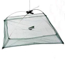 Foldable Fishing Trap Baits Cast Crab Minnow Crawdad Shrimp Dip Net 1