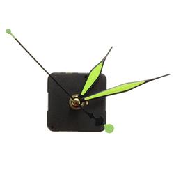 Green & Black Luminous Hands DIY Quartz Clock Spindle Movement 1