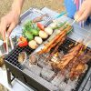 Outdooors BBQ Portable Charcoal Grill Household Folding Rack Grill 3