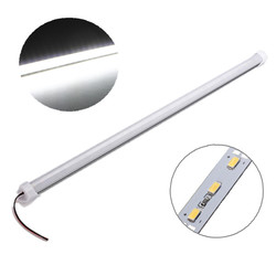 4X 50cm 9W 5630 SMD White Waterproof LED Rigid Strip Cabinet Light for Outdoor Kitchen DC12V 1
