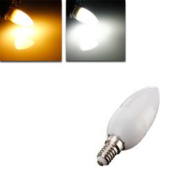 E14 2835 SMD 3W White/Warm White LED Candle Bulb Lamp AC 200-240V 1