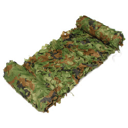 7X1.5m Woodland Camouflage Camo Net For Camping Military Photography 1