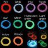 2M 10 Colors 12V Flexible Neon EL Wire Light Dance Party Decor Light 2