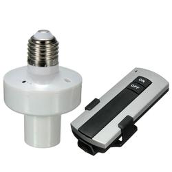 E27 Screw Wireless Remote Control Light Lamp Bulb Holder Cap Socket 1