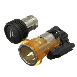 Car Cigarette Lighter&Housing Cig Socket For PEUGEOT 206 308 406 607 1