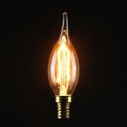 C35 40W E14 Vintage Antique Edison Carbon Filamnet Clear Glass Bulb 220V 1