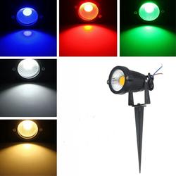 5W IP65 LED Flood Light With Rod For Outdoor Landscape Garden Path AC85-265V 1