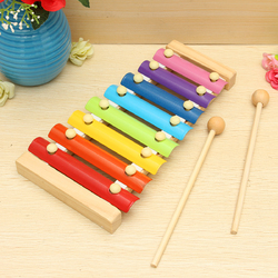 Kids Toys 8 Notes Musical Xylophone Piano Wooden Instrument For Children 1