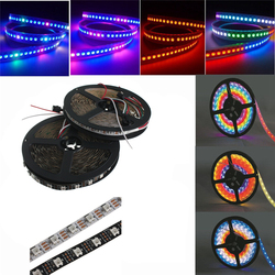 5M WS2812B 5050 RGB Non-Waterproof 300 LED Strip Light Dream Color Changing Individual Addressable DC 5V 1