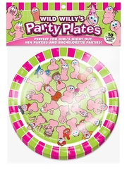 Wild Willys Party Plates - 10 Count 1