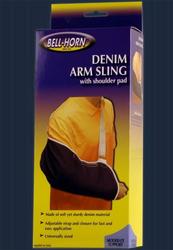 Arm Sling Denim w/ Shoulder Pad Universal 1
