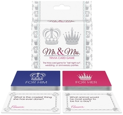 Mr. and Mrs. Trivia Card Game 1