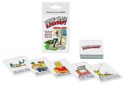Whitetrash Roundup! Card Game 1