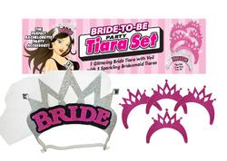 Bride-to-Be Party Tiara Set 1