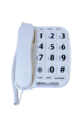 Large Button Telephone with Speaker Phone and Voice Amp 1
