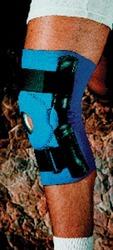 Neoprene Open Patella Hinged Knee Brace XL 17 -19 Sportaid 1