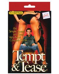 Tempt & Tease Card Game 1