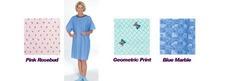Tie-Back Adult Gown Geometric Print 1