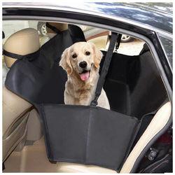 Oxford Waterproof Car Back Seat Cover Hammock Protector Cushion Mat for Pet Dog Cat 1