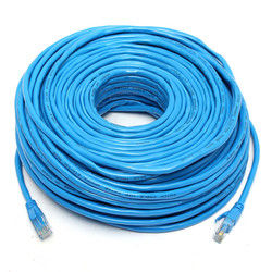 50M/164Feet RJ45 CAT6 CAT6E Ethernet Internet LAN Wire Networking Cable Cord Blue 1