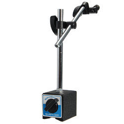 Magnetic Base Holder With Double Adjustable Pole For Dial Indicator Test Gauge 1