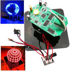Geekcreit?® DIY Spherical Rotating LED Kit POV Soldering Training Kit 1