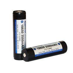 2pcs KeepPower P1835J 18650 3500mAh 3.7V Rechargeable Battery 1