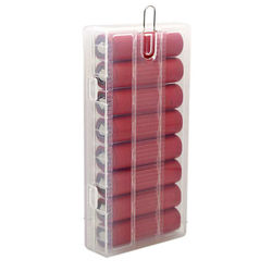 Soshine 8x 18650 Battery Transparent Hard Plastic Storage Case Cover 1