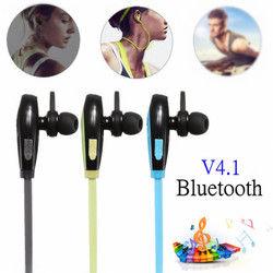 Sport Wireless V4.1 bluetooth Earphones Headphones Headset With Mic 1