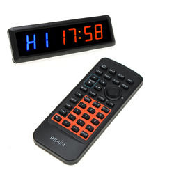 Multifunction Fitness Timer Led Wall Clock Mute Large Decorative Vintage Watch 1