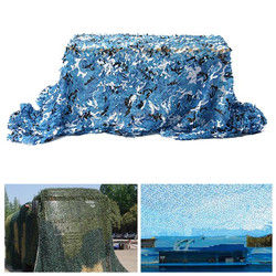 5mx2m Camo Camouflage Net For Car Cover Camping Military CS Hunting Shooting Hide 1