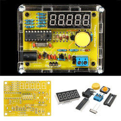 5Pcs DIY Frequency Tester 1Hz-50MHz Crystal Counter Meter With Housing Kit 1