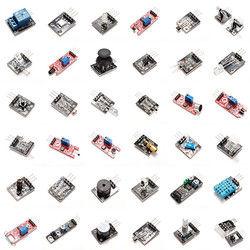 Geekcreit 37 In 1 Sensor Module Board Set Starter Kits SENSOR KIT For Arduino Plastic Bag Package 1