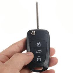 Remote Folding Key Shell Case Uncut Blade 3 Buttons for Hyundai I20 I30 IX35 I35 1