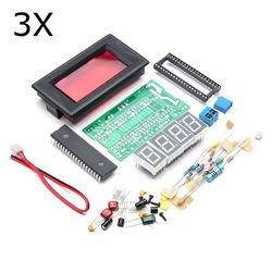 3Pcs ICL7107 4 Digital Ammeter DIY Kit Electronic LED Soldering Set 1