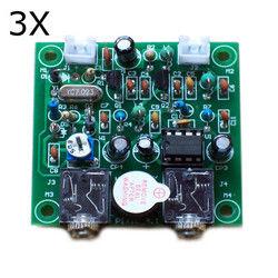 3Pcs DIY QRP Pixie Kit CW Receiver Transmitter 7.023MHz Shortwave Radio 1