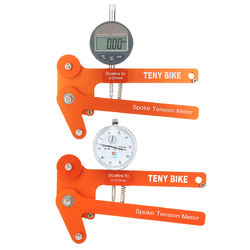 BIKIGHT Spoke Tension Meter Tensiometer Bicycle Wheel Builders Tool Digital Scale 1